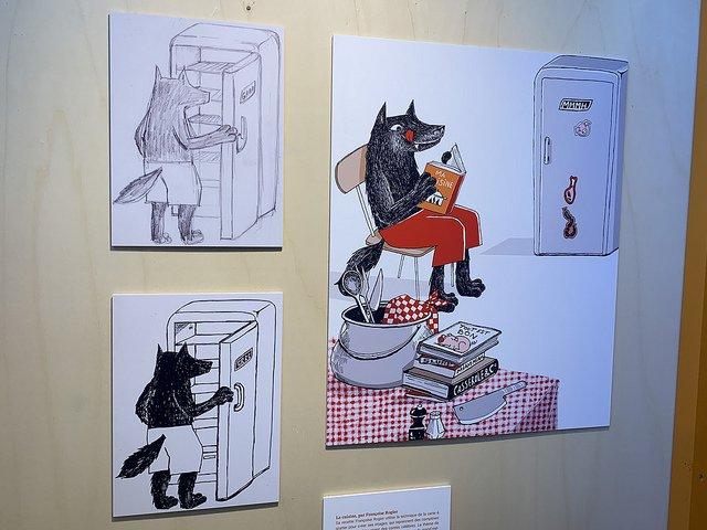 [ Depuis la @foirelivrebxl ] Huit illustrateurs inventent une maison pour les enfants, du jardin au grenier https://www.actualitte.com/t/BgWQTFUx v @VilleBruxelles #FLB19 #Bruxelles #livre #foire #exposition #illustration #illustrateurs #lecturejeunesse