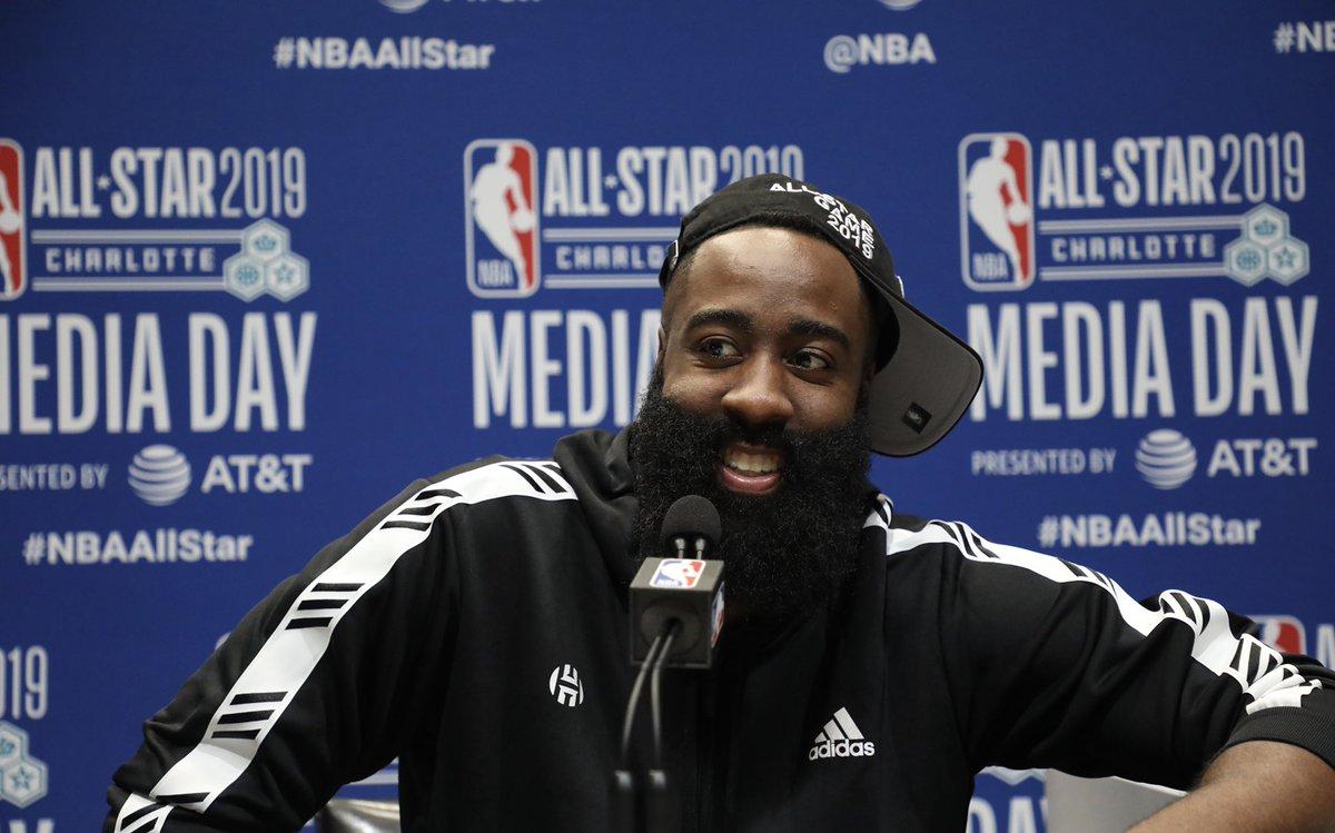 #NBAAllStar Media Day ⭐️