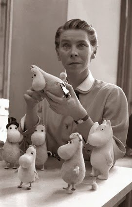 Now that Moomins are becoming a thing again, let's all remember that Tove Jansson was a gay Finn-Swedish woman who was vocally anti-fascist & lived the last years of her life on an island with her life partner & girlfriend of many decades, Tuulikki Pietilä. Icon.