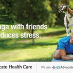 Image for the Tweet beginning: With Advocate Aurora Health, you're