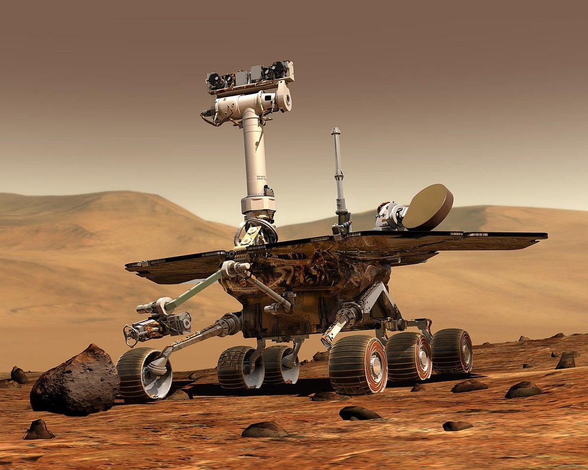 [THREAD] Pada 13 Febuari yang lalu, kita telah kehilangan sebuah penjelajah berani bernama Opportunity, sebuah robot penjelajah yang ditugaskan untuk menjelajah planet Marikh. Ini 10 fakta menarik tentang robot ini.