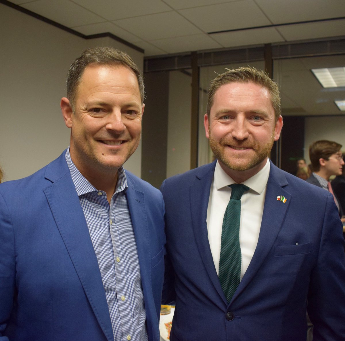 Congratulations Representative @RafaelAnchia - new Chairman of the TX House International Affairs Committee.  Looking forward to working with Committee to support stronger links between TX and Ireland/EU.  #TXlege #Working4IRL