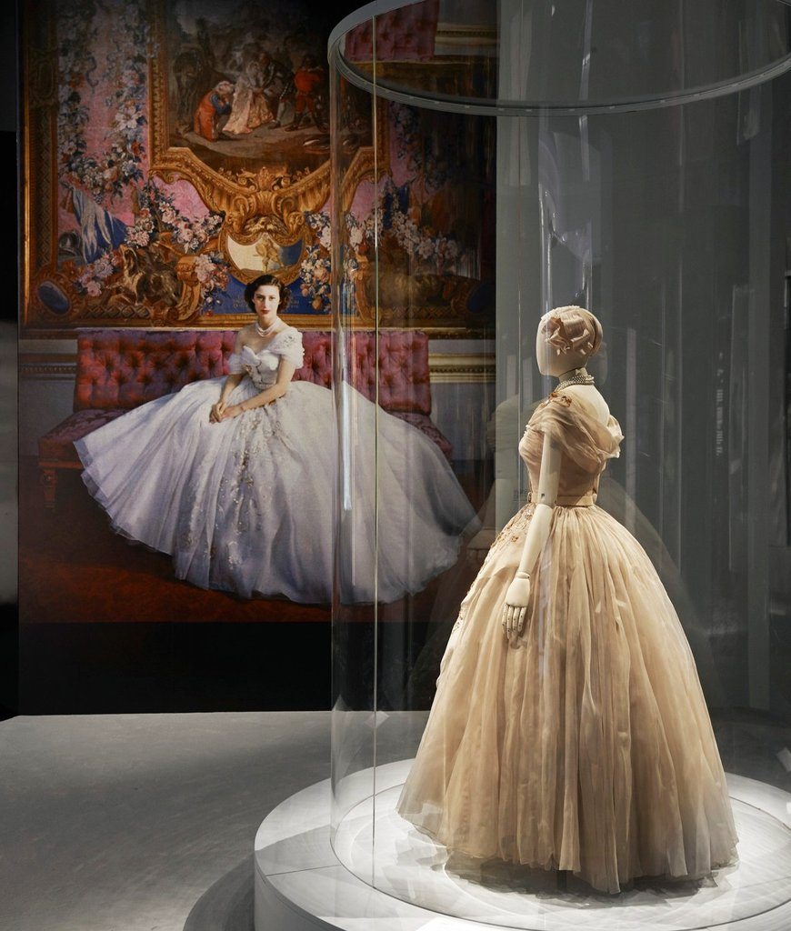 """Take a look at the @Dior 'Designer of Dreams"""" Exhibit at the Victoria & Albert Museum in London #LFW"""