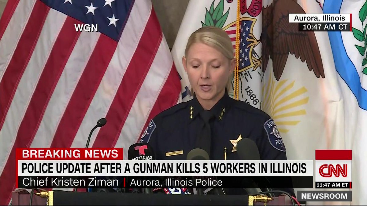 Police identify victims of Aurora, Illinois, manufacturing plant shooting and give updates on investigation. https://cnn.it/2TRsbSr