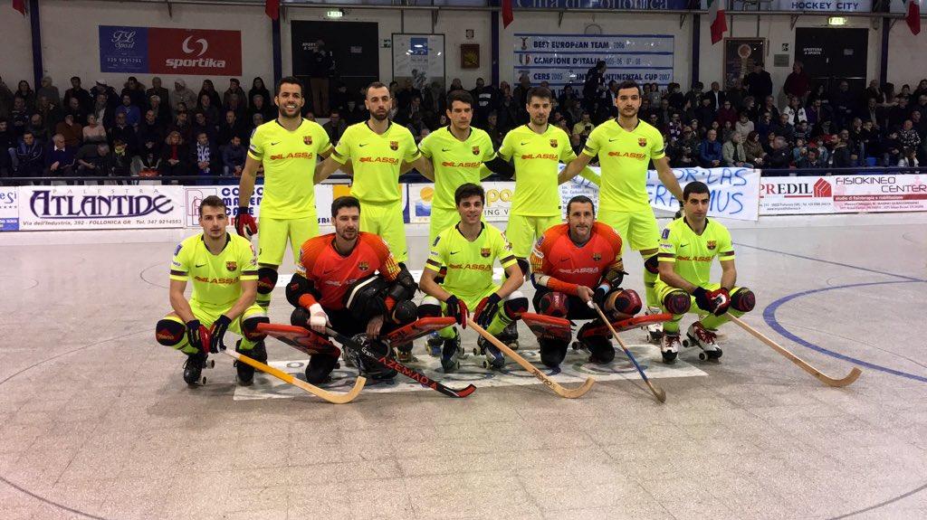 💪 Comença el partit! / ¡Empieza la quinta jornada europea!  🏑 @follohockey 0-0 @FCBhoquei   💻 http://ow.ly/DkAg30nIrX0 🔵🔴 #ForçaBarça #okeuro