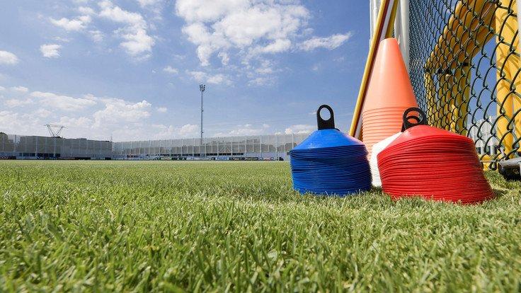 #UCL #AtletiJuve #TrainingCenter #Continassa: 📍 Mañana, entrenamiento matinal.