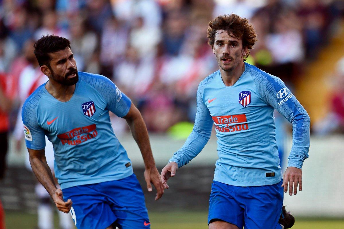 #Football ⚽️  Courte mais précieuse victoire de @Atleti au @RayoVallecano grâce à un but d'A. #Griezmann 🇫🇷 lors de la 24ème journée de #LaLiga (0-1).  Les Colchoneros repartent de l'avant après 2 revers en championnat avec la 2ème place provisoire (47 points).  #RayoAtleti 🇪🇸🏆