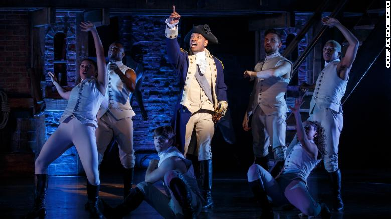 """Three people were injured when panicked audience members """"self-evacuated"""" during a performance of the musical """"Hamilton"""" in San Francisco, police said https://cnn.it/2SH8z72"""