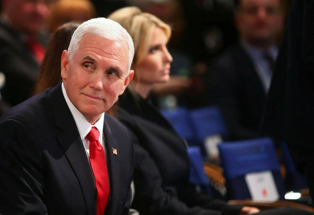 Pence chastises EU, rejects Merkel's call to work with Russia https://reut.rs/2SCa6Ly
