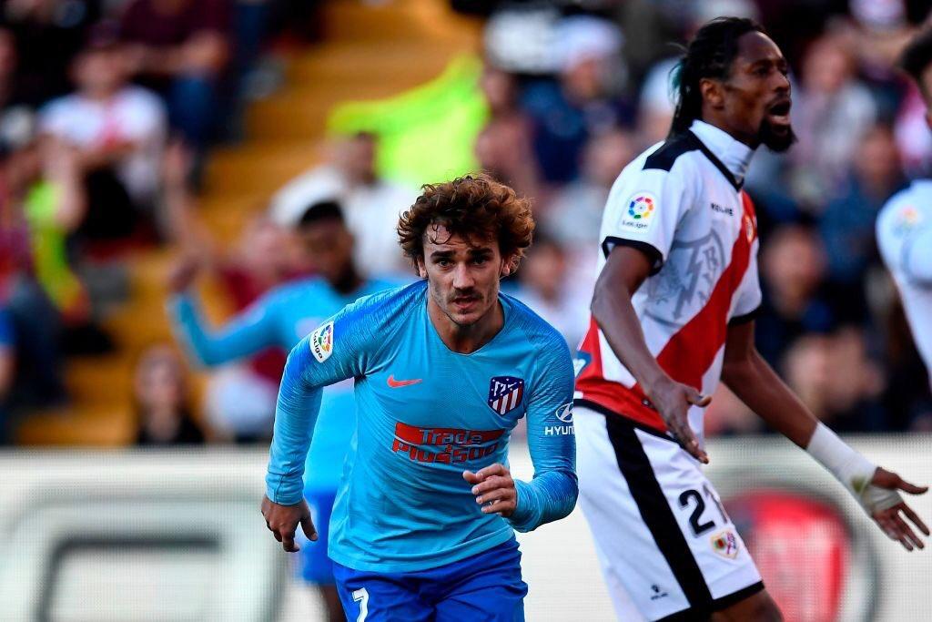 ¡RESULTADO GENÉRICO! 😋 El Atleti venció 1-0 en Vallecas al Rayo Vallecano con gol de Antoine Griezmann y de momento, recupera el subliderato de #LaLiga.
