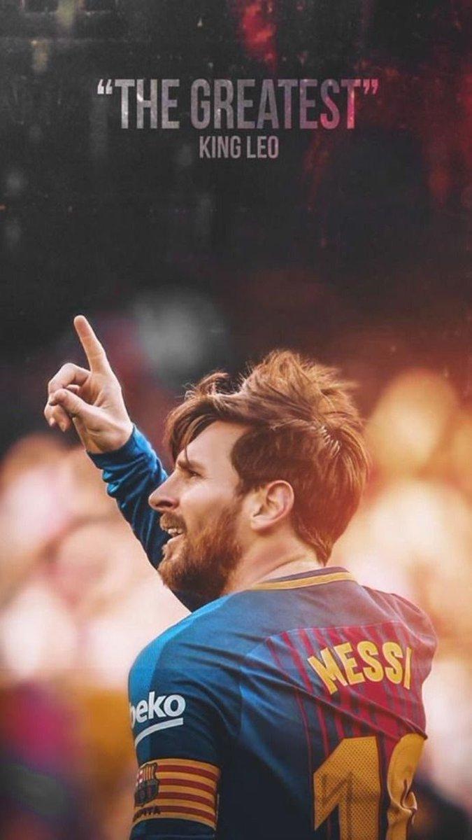 Podrá no gustarnos el entrenador, el estilo de juego, la actitud del equipo, pero cuando juega él lo demás no importa.  🐐💙❤️😍👏 #BarçaValladolid #ForçaBarça
