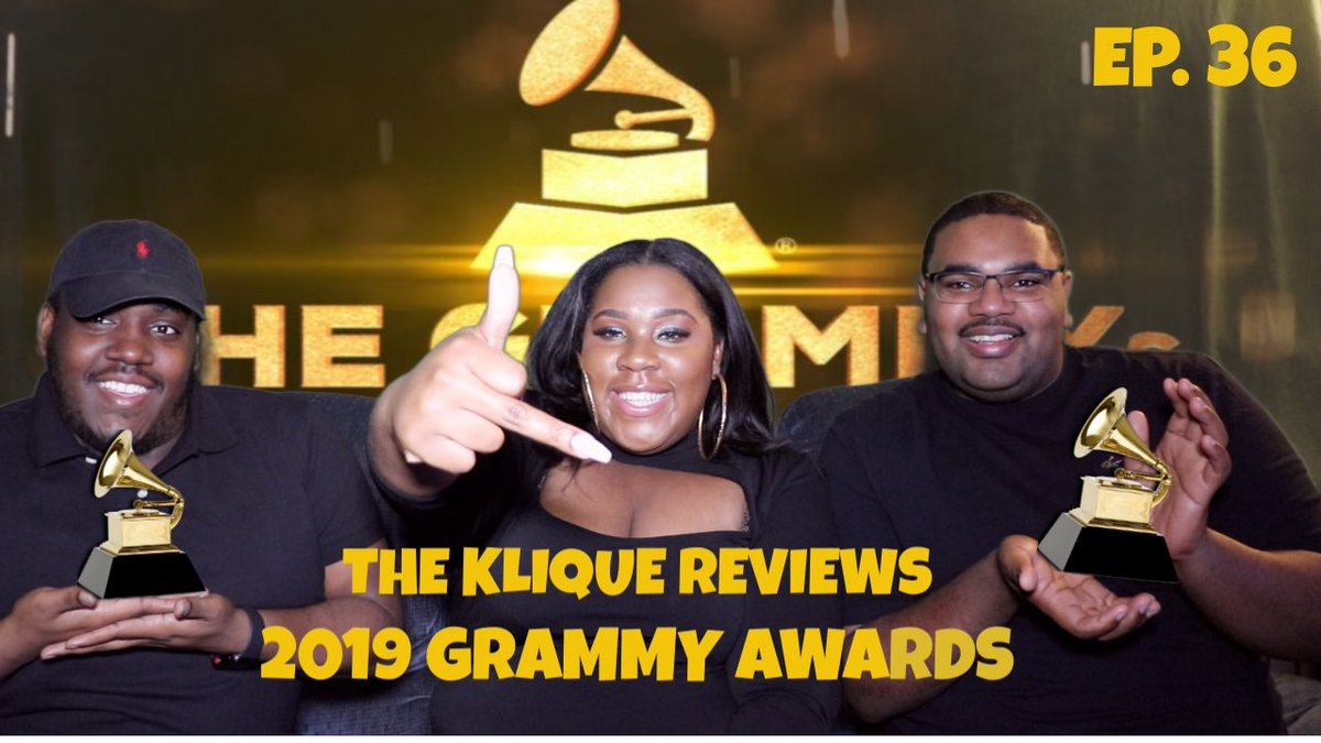 2019 GRAMMY REVIEW!   In case you missed it! Catch up with our SHADY critiques!   #GRAMMYs #Grammy2019   https://youtu.be/PjSMYG_fTqw ☝🏽☝🏽☝🏽☝🏽☝🏽☝🏽☝🏽☝🏽☝🏽☝🏽☝🏽
