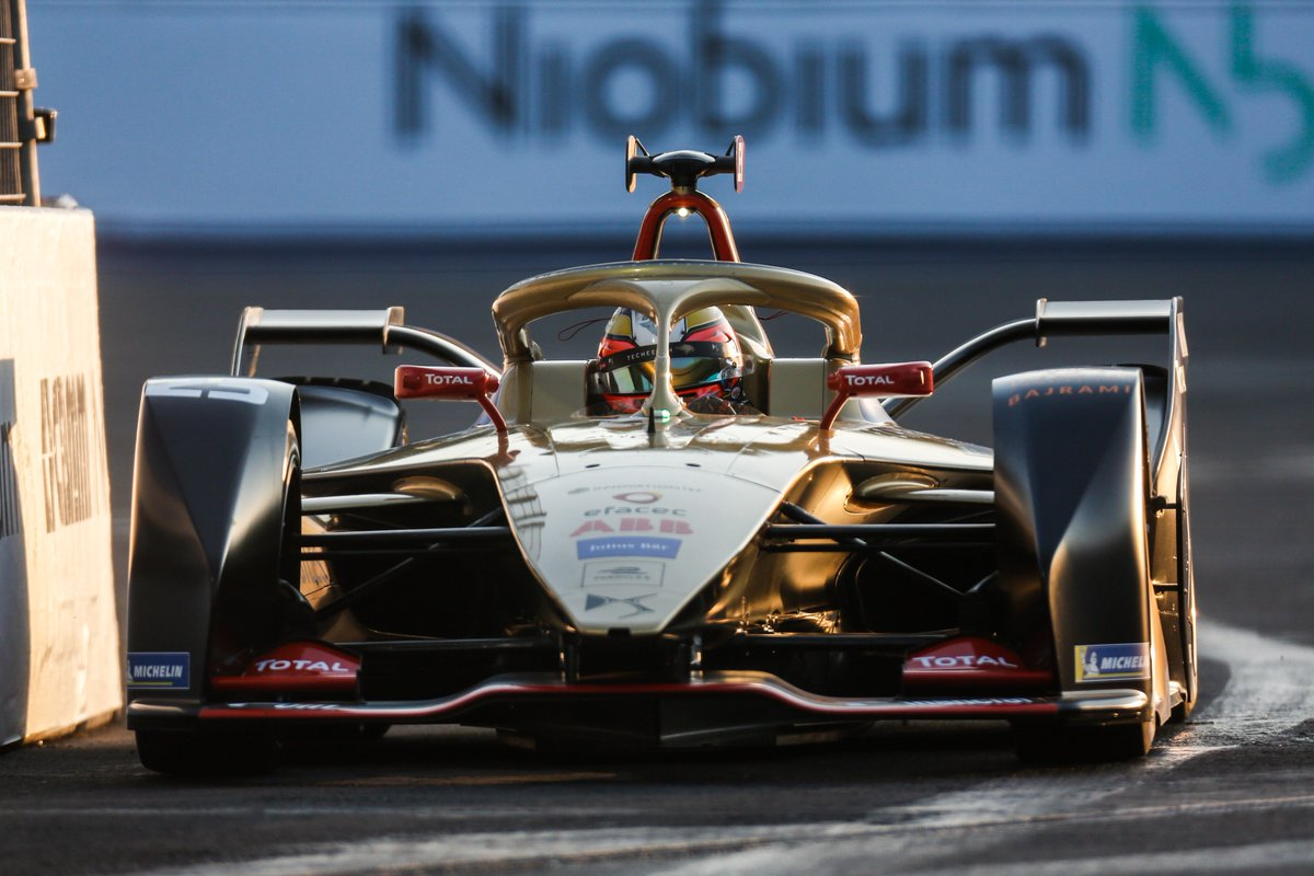 Gara ePrix Mexico City 2019 Formula E Jean-Eric Vergne DS Techetah