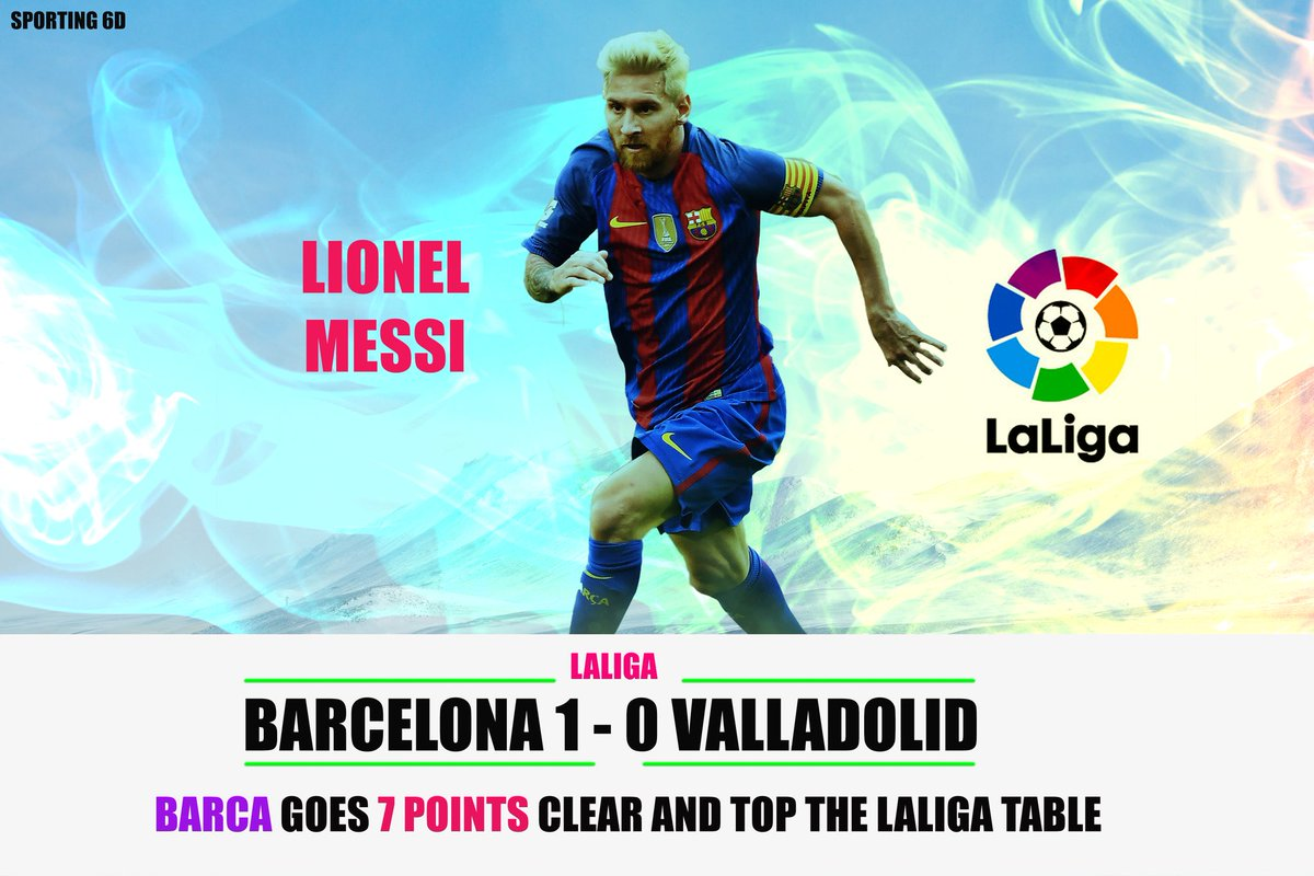 Barcelona keeps their momentum going with a win over Valladolid. But competition is fierce with Real Madrid and Atletico are on the cusp.#fcblive #Barca #Futbol #MESSI #Pique #BarcaValladolid #FelizJueves #fcb #ForcaBarca #Boateng