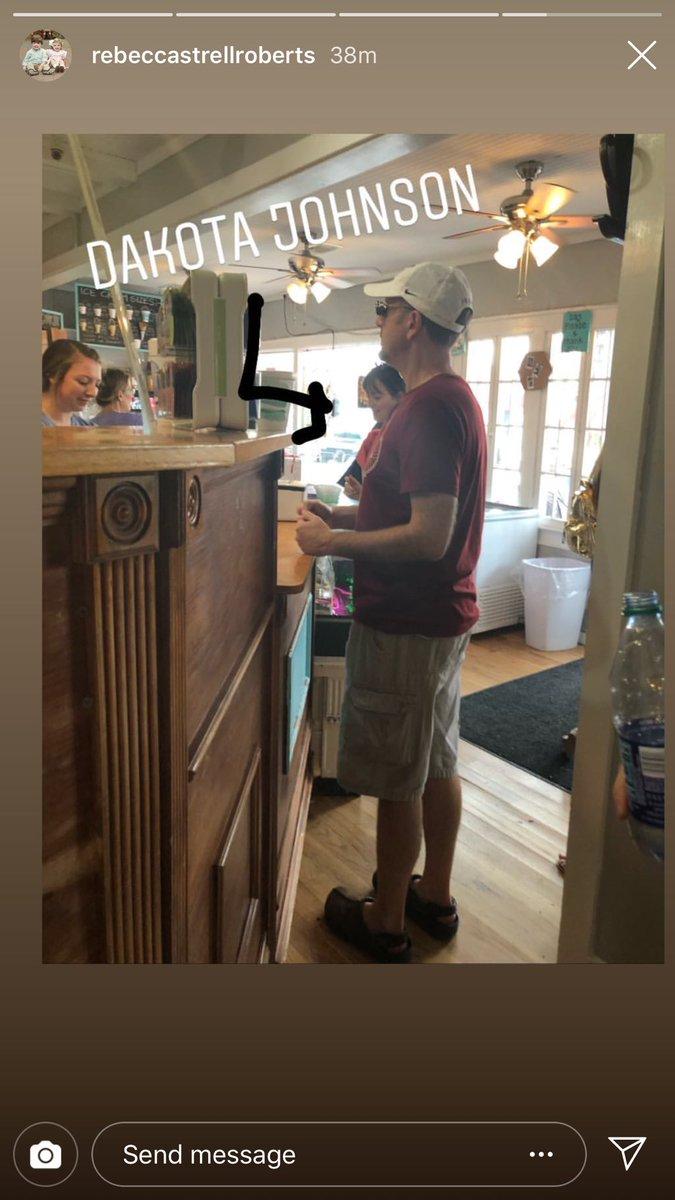 New Picture of Dakota in Fairhope, Alabama today shared by @BshawThaGod  #DakotaJohnson #TheFriend<br>http://pic.twitter.com/OLTZsdVbQx