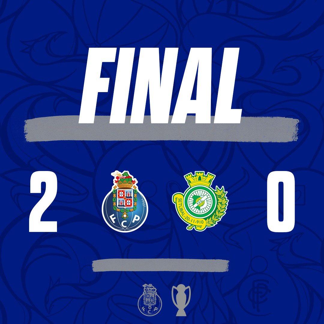 ⏱Final de Jogo / End of the match / Final del Partido  🔵⚪FC Porto 2-0 Vitória FC  ⚽15' Herrera  ⚽65' Soares  #FCPorto #FCPVFC