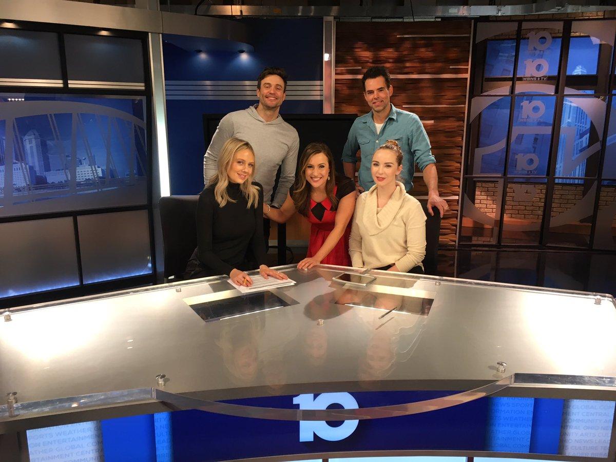 Hello Columbus! Don't miss this #YR Fab Four tonight at 6 PM on @10TVBot! @KarinaNova10TV