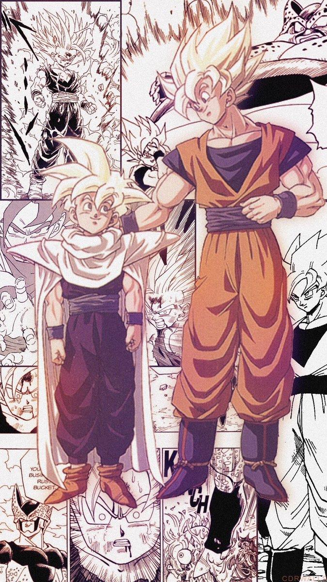 Wallpapers On Twitter Gohan Goku From Dragonballz