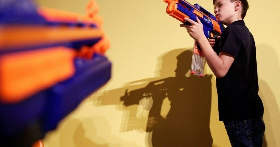 "A popular Ohio community center has faced backlash this week for hosting a kids event called ""Shoot The President"" where local kids can shoot and try to assassinate the President using NERF Guns! 😂😂 https://fox8.com/2019/02/14/shoot-the-president-party-game-at-local-performing-arts-center-raises-concern-in-community/ …"