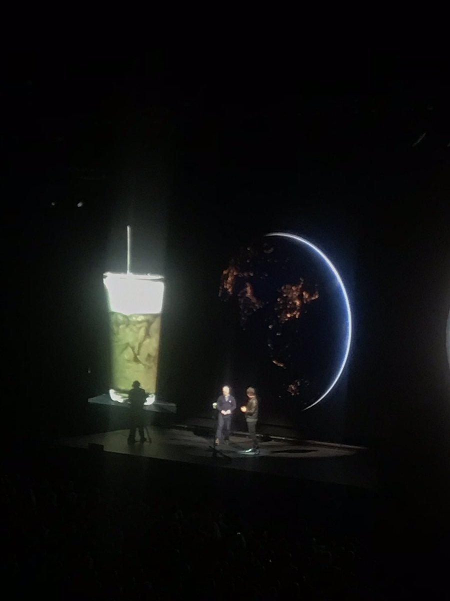 test Twitter Media - . @ProfBrianCox & @robinince using coffee & cream to explain how we got from the Big Bang to the universe as we know it today. Fantastic show tonight in @3ArenaDublin - masterclass in communicating complex scientific concepts effectively https://t.co/aTMArDnRkx