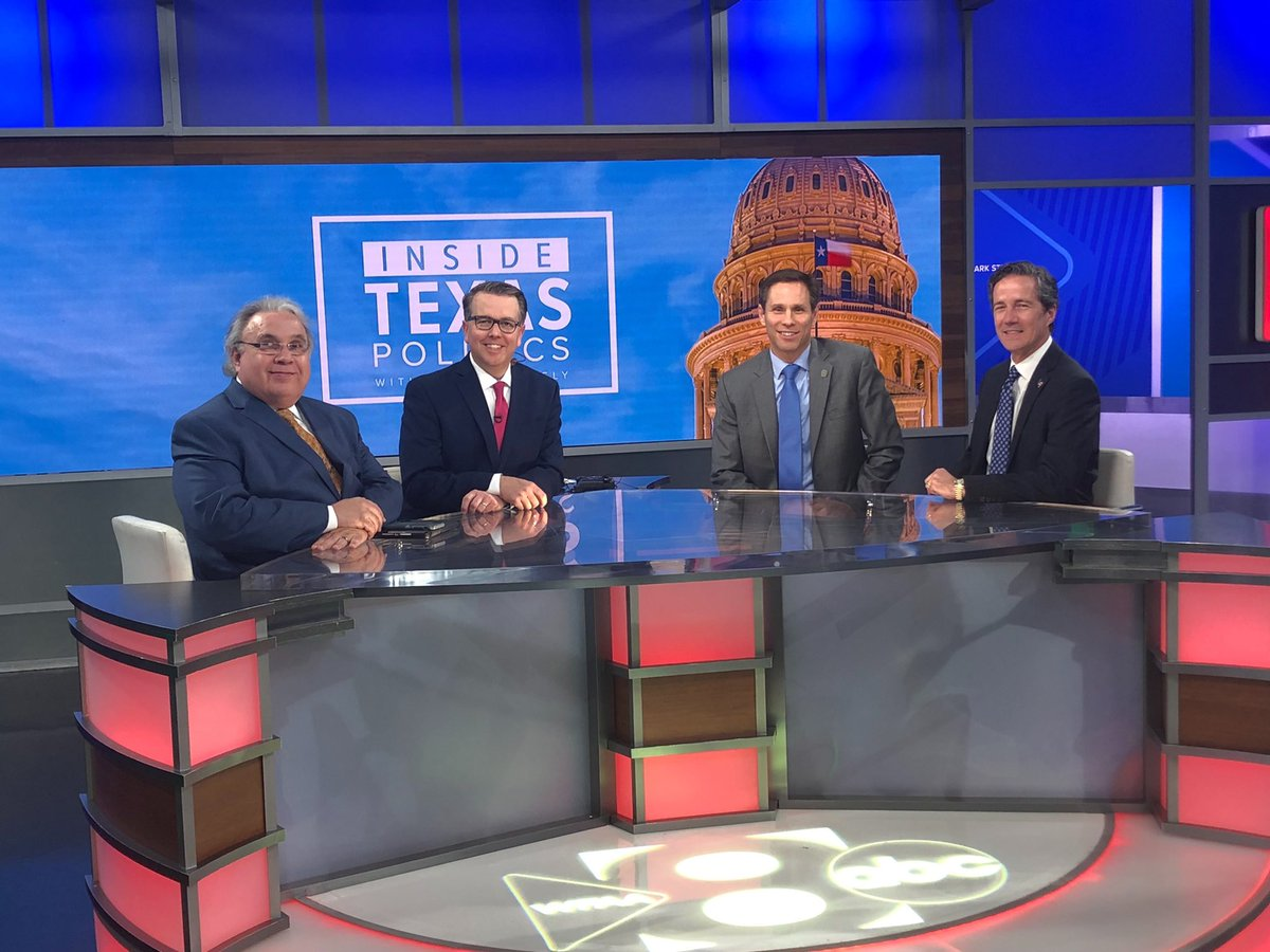 Watch Inside Texas Politics tomorrow on @wfaa. I will be discussing school finance and tax reform with @KHancock4TX.  #TXLege