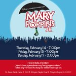 Image for the Tweet beginning: MARY POPPINS JR, St. James