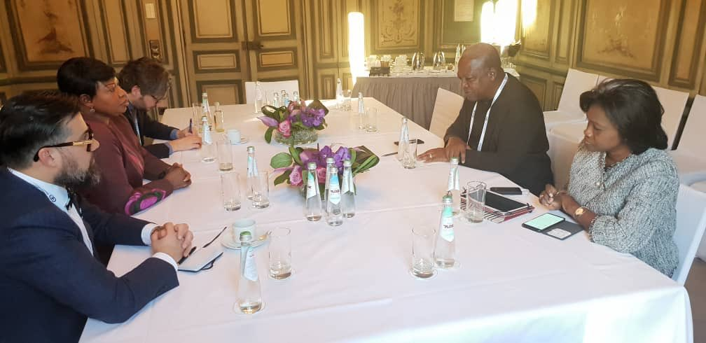 Held discussions on relations between ICC & Africa with the Chief Prosecutor of ICC, Fatou Bensouda, on the sidelines of the @MunSecConf. Very insightful. Also discussed how to improve the continent's confidence in the ICC & issues of human rights around the world. @TanaForum