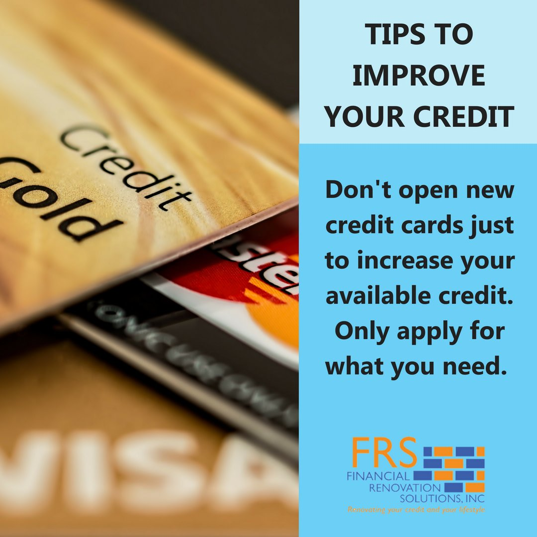 Opening a new credit card isn't a bad thing, but don't collect them like they're trading cards! Only apply for what you need.   #TheMoreYouKnow #CreditRepair #FRSCredit