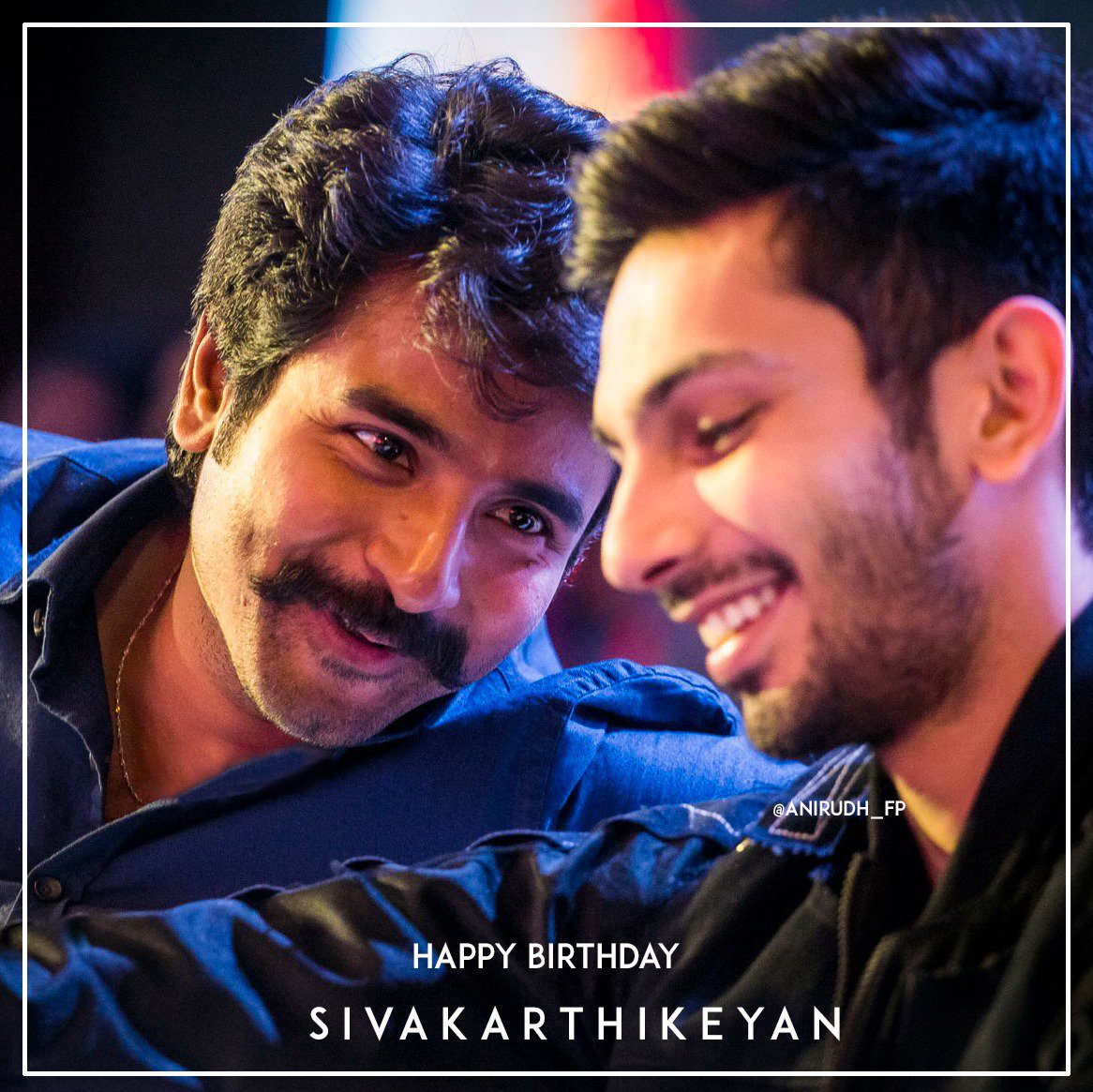Wishing @anirudhofficial bestest  friend in industry & brother @Siva_Kartikeyan a very happiest birthday ❤️   You both started together & achieved a lot together🔥 Being there for eachother always⭐Let this beautiful friendship continue forever:) 😍  Love, Anirudhians