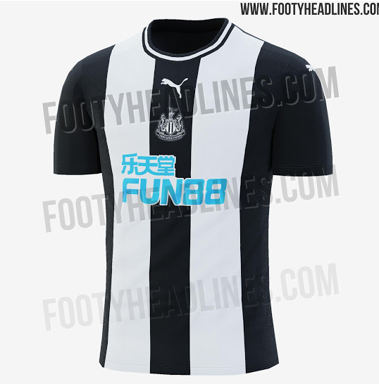 Getting some serious Tyneside Pro Evolution Soccer vibes from the new Newcastle kit 😍