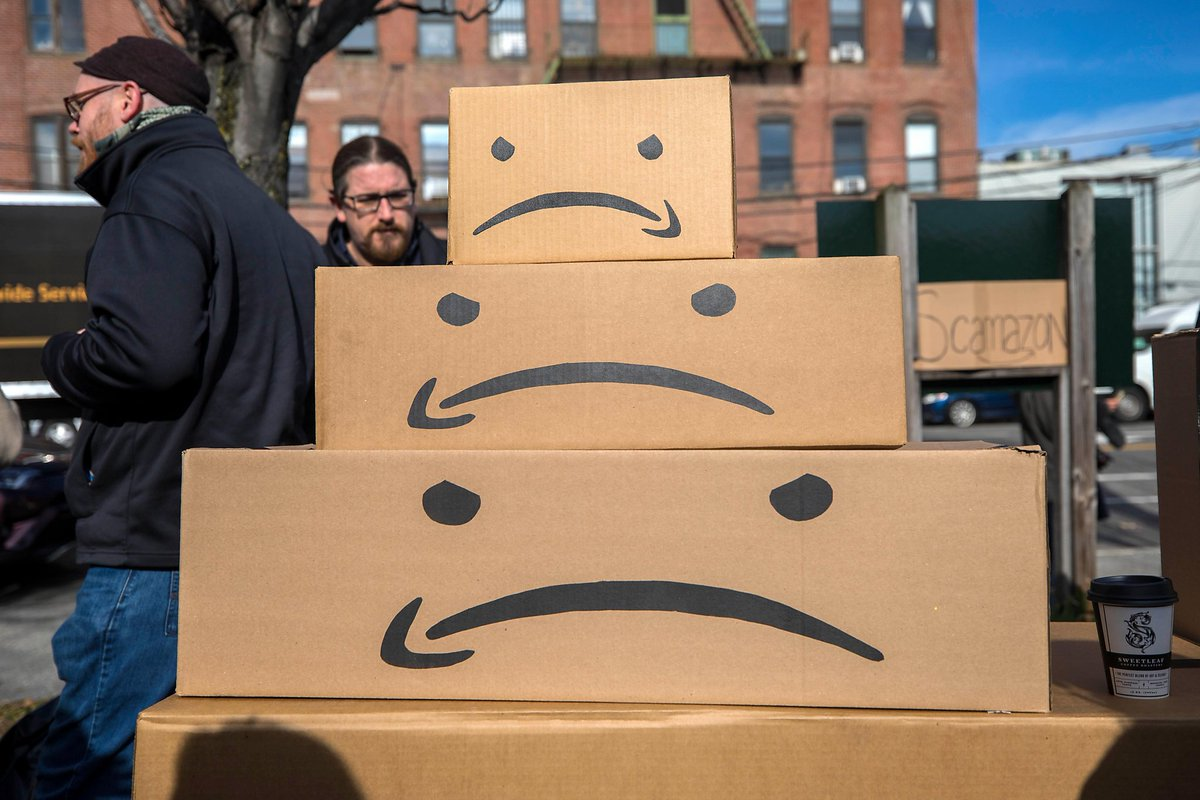Group: Amazon paid no federal taxes on $11.2B in profits https://t.co/LBLjEqipSV