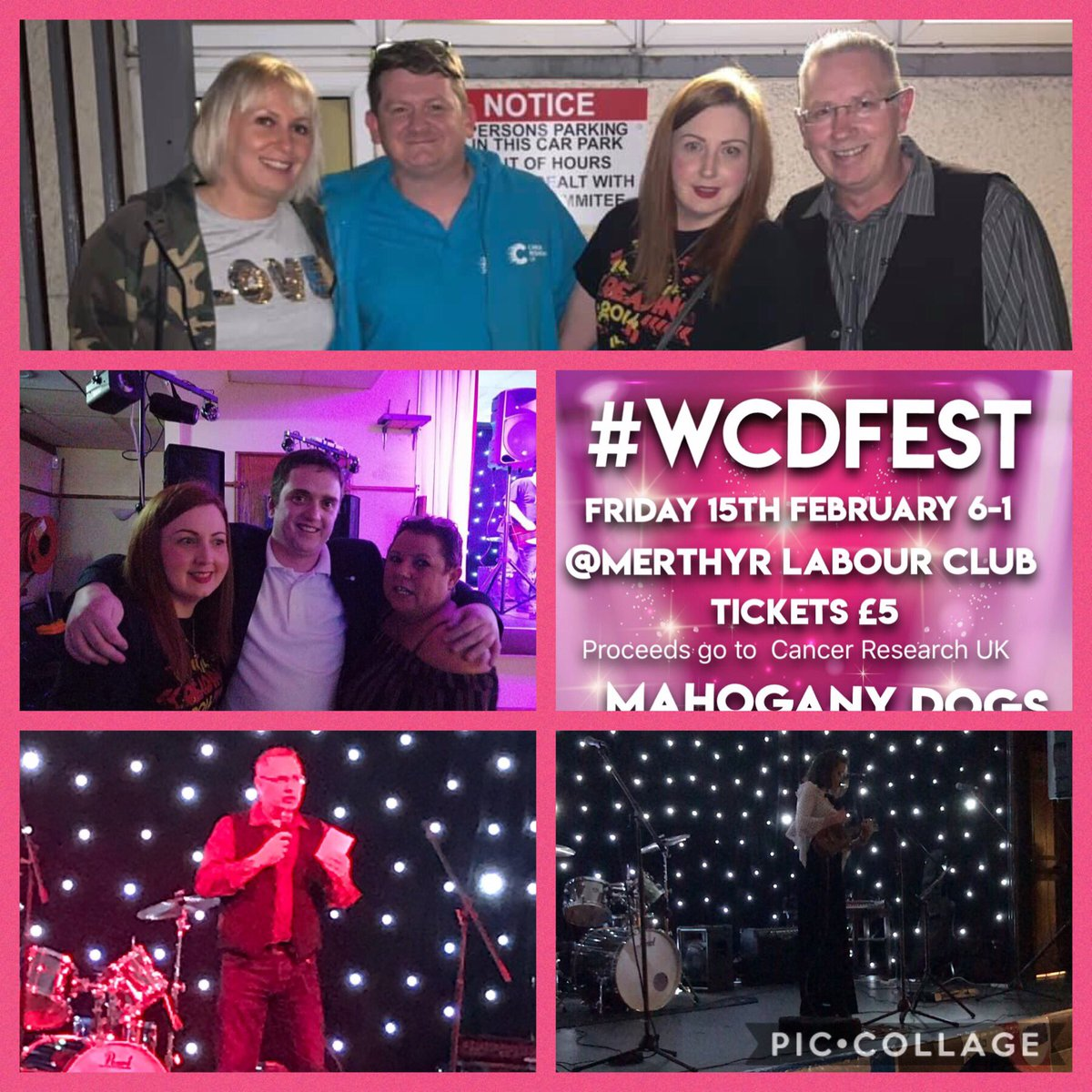 Thankyou toall our supporters who donated to our #WorldCancerDay  events,thanks to Erin,Ashley, @RossPrmum &amp;Mahogany Dog amazing night <br>http://pic.twitter.com/QG54xxYE7y