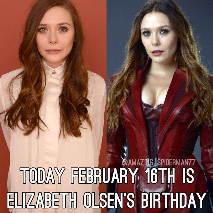 Happy Birthday Elizabeth Olsen!