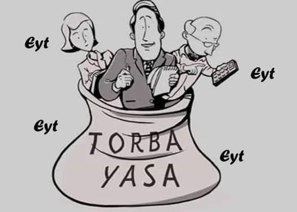 Sn.@RT_Erdogan Özel sektörde gece gündüz demeden çalışan ömrü boyunca gün yüzü görmeyen EYT'li mağdurlar.Çok sabretti, bekledi.Bir gün bile katkısı olmayan yaşlılarımıza yaşlılık maaşı bağlayan devletimiz bizlerede sahip çıkacaktır.İnsallah...            #EYTsizTorbaOlmaz