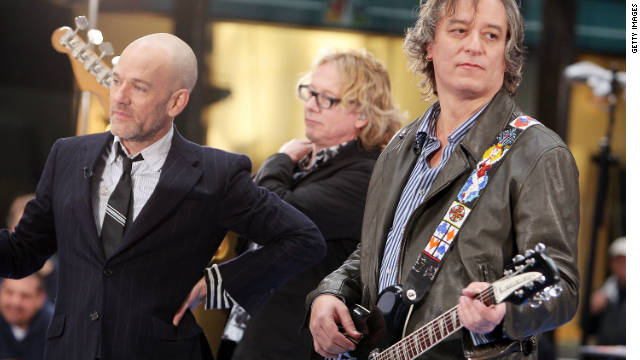 Alternative rockers R.E.M. blast President Trump for retweeting a video that uses 'Everybody Hurts' to mock Democrats  https://t.co/TAPvmOgv3S