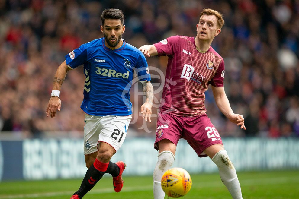 🗨️ Daniel Candeias has been speaking following this afternoon's draw with St Johnstone at Ibrox Stadium.  Reaction 📲 https://rng.rs/2X7rnuP