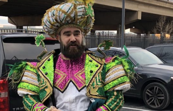 @JasonKelce wore it better! #FlyEaglesFly