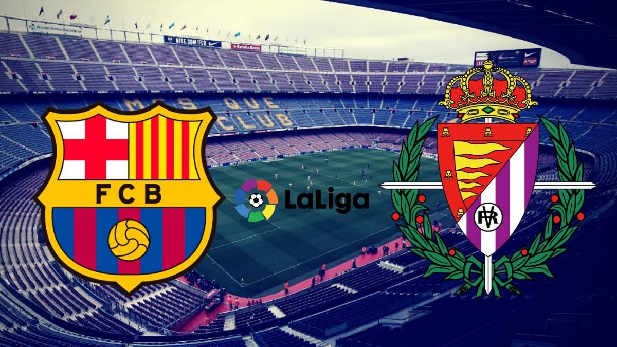Barcelona vs Valladolid Spain LaLiga Santander Live Stream 🔴 Live now here 👉 « https://nbctvsports.online/match/live-barcelona-vs-valladolid… »  #Spain #LaLigaSantander #CopadelRey #Matchday #CopaBarça #AthleticBarça  #ForçaBarça #pucela #RealValladolid #BarçaRealValladolid