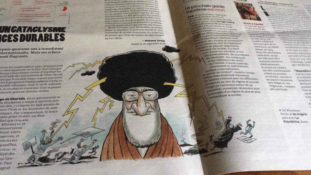 هذا الكاريكاتور منعت الرقابة نشره في لبنان . اوكي و هاي نحنا نشرناه :)