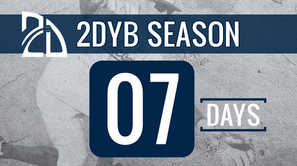 One week One Week     One week One Week                      One week                 One week             One week         One week      One week  7 Day Until 2DYB Season!🚨👊  http://Play.2Dyouth.org