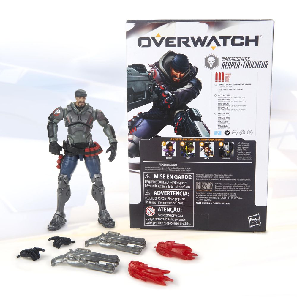 BREATHES HEAVILY, THERE IS A MIGHTY NEED #Overwatch #Reaper #gabrielreyes #HasbroToyFair