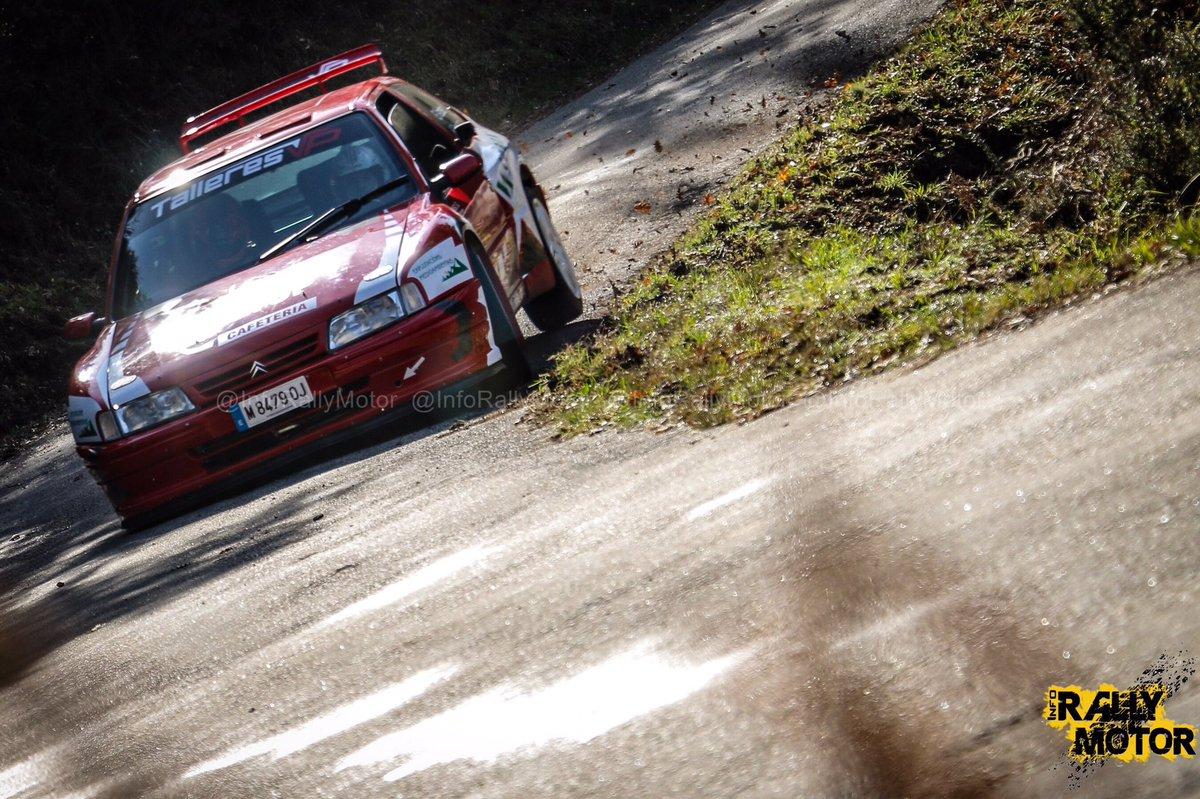 Info Rally Motor On Twitter Jornada De Test Para Emilio Vazquez Y