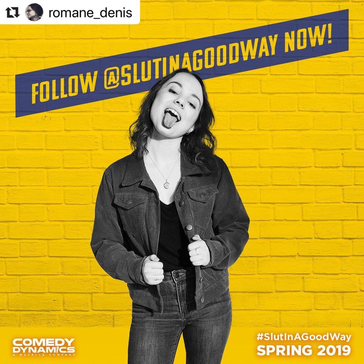 #Repost @romane_denis  ・・・ C'est vrai! #slutinagoodway is coming to U.S. theatres spring 2019!! Allez suivre @slutinagoodway 💛💛💛#SlutInAGoodWay  #independentfilm #femalefilmmakers #freedom #womenswave  #setlife