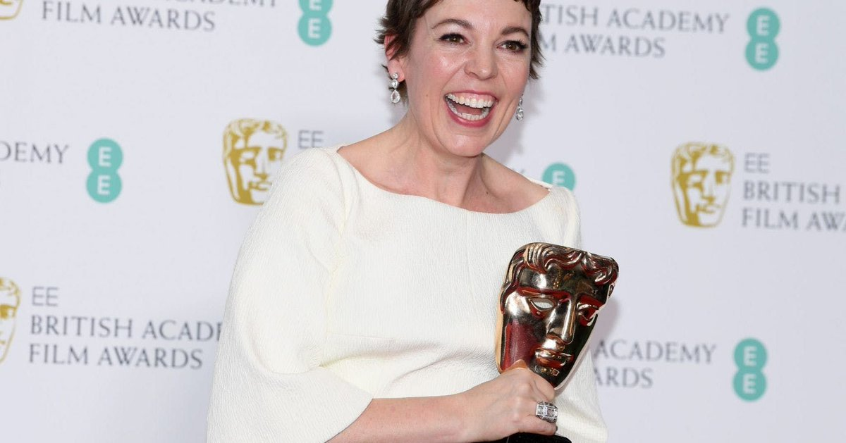 We're just going to take a moment to enjoy Olivia Colman's hilarious #BAFTAs speech, and you should too  https://t.co/gzQXkCNSyg
