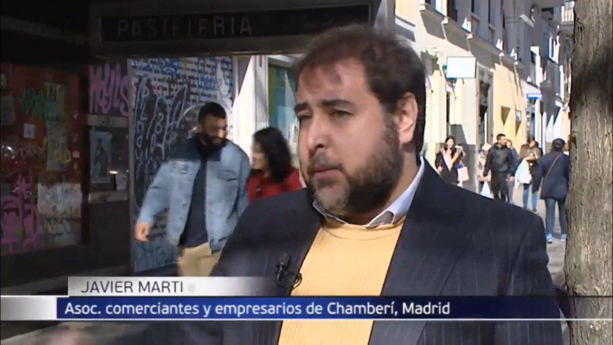 Está noche en @informativost5 hablamos sobre el #comercio de proximidad y su progresiva desaparición en #Chamberí y como afecta al ecosistema del barrio. #Madrid #Noticias