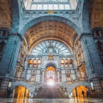 Image for the Tweet beginning: Stepping out into #Antwerp Central