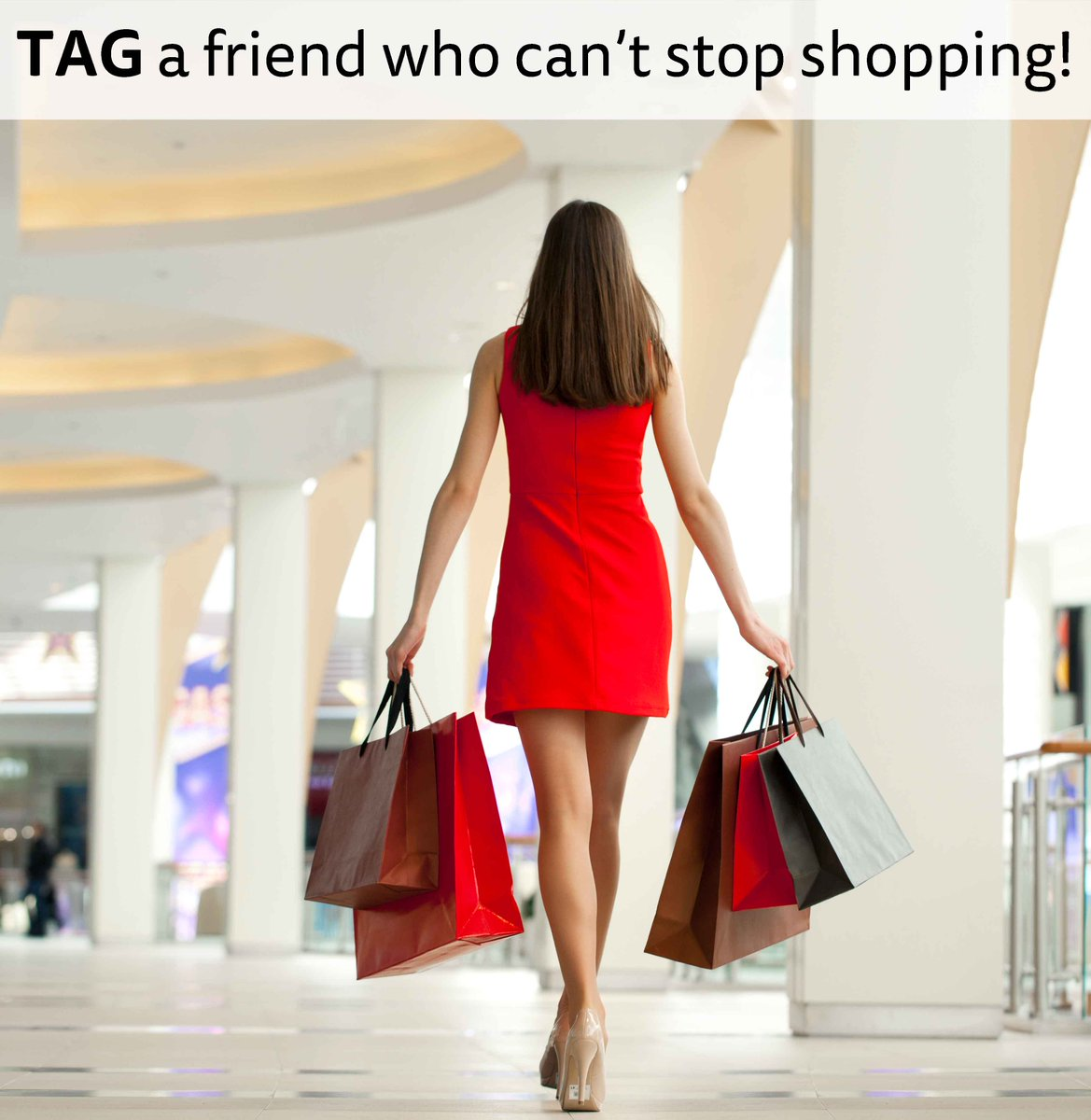 Tag your friends!  #tagafriend #shopaholic #shopping<br>http://pic.twitter.com/UbyL5uaI6h