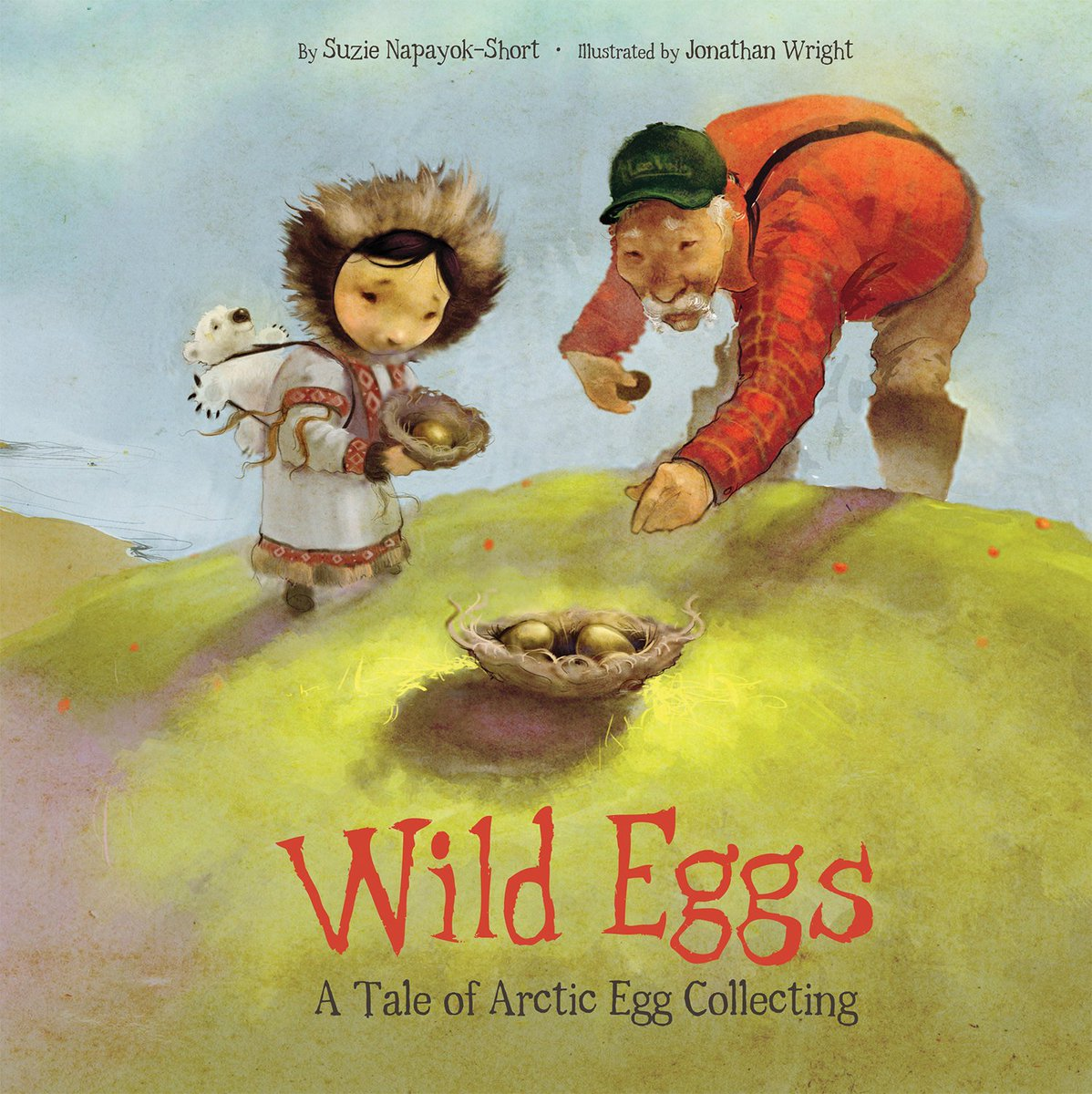 Wild Eggs: A Tale of Arctic Egg Collecting, written by @NapayokSuze, illustrated by Jonathan Wright, & published by @Inhabit_Media. More about this book & the #IndigenousPictureBooks Collection: http://www.ibby-canada.org/indigenous-picture-book-collection/ … #LibraryChallenge #ReadIndigenous 76/100