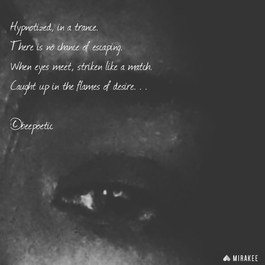 The eyes are the windows of the soul. The eyes are the dead give aways. The eyes hold power.  I was told my stare was dangerous... ¤  #seduction #desire #intimacy #simple #poetry #poetess #passionate #dangerouswoman #poetryporn #poetsofinstagram