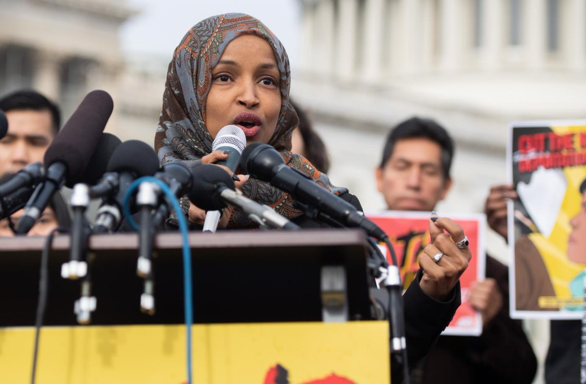 Trump's call for Ilhan Omar's resignation is distraction from the GOP's own anti-Semitism | Opinion  https://t.co/59279f0YjX